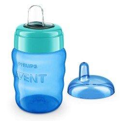 Philips AVENT Чаша за лесен преход без дръжки 260 мл, 9м+, синя