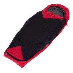 Phil & Teds Спален чувал Snuggle & Snooze, червен + черен